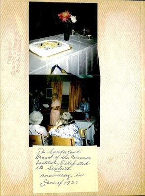 Sunderland WI Tweedsmuir Community History, Volume 8