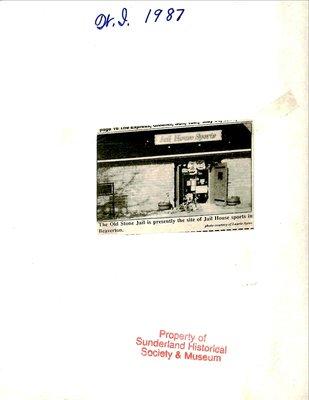 Sunderland WI Tweedsmuir Community History, Volume 9