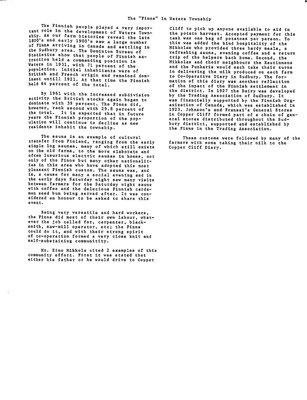 Waters WI Tweedsmuir Community History, Volume 2