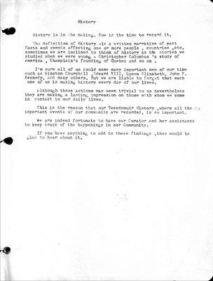 Woodville WI Tweedsmuir Community History, Volume 2