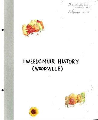 Woodville WI Tweedsmuir Community History, Volume 5