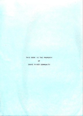 Snake River WI Tweedsmuir Community History, Volume 3: 2000-2004