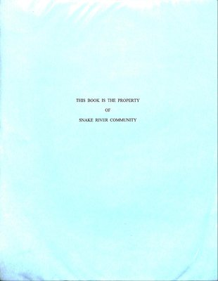 Snake River WI Tweedsmuir Community History, Volume 4: 2003-2008