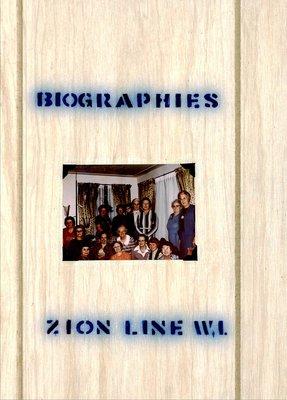 Zion Line WI Tweedsmuir Community History, Volume 3: Biographies, 1963-2000
