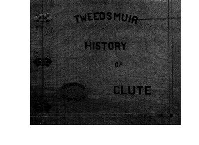 Clute WI Tweedsmuir Community History, 1924-1958