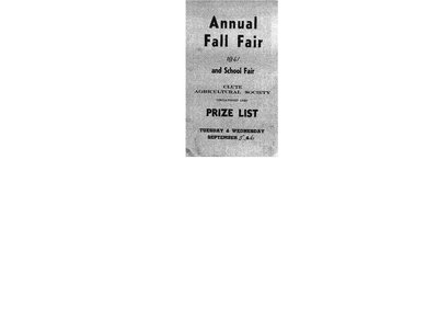 Clute WI Tweedsmuir Community History, 1959-68