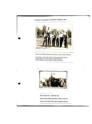 Kipling WI Tweedsmuir Community History, Volume 4