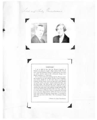 Monteith WI Tweedsmuir Community History, Volume 11: 1920-97
