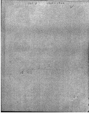 Beatrice WI Minute Book, 1919-25