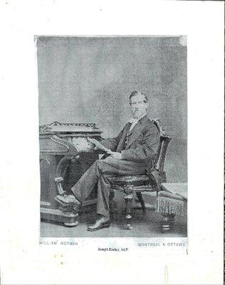 Castleton WI, Photograph of Joseph Keeler, M.P.