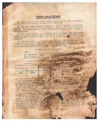 Matabitchouan WI Minute Book, 1930-37
