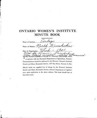 Portage WI Minute Book, 1954-59