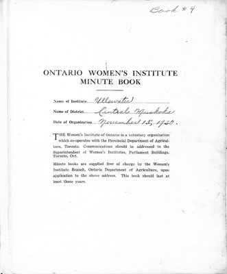 Ullswater WI Minute Book, 1947-51