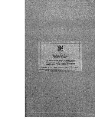 Cochrane District Minute Book, 1937-39