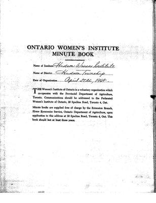 Hudson WI Minute Book, 1968-71