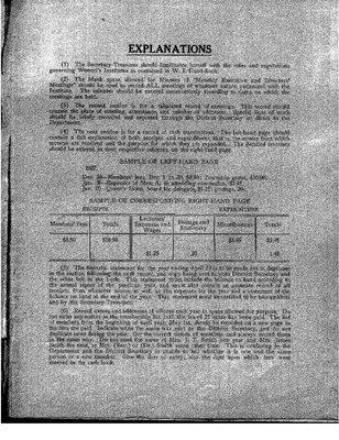 McCool WI Minute Book, 1931-43