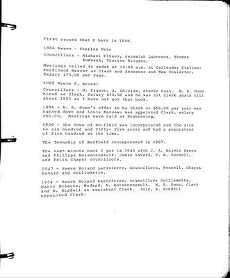 Rutherglen WI Tweedsmuir Community History, Volume 2