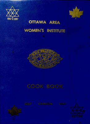 Ottawa Area Women's Institute Cook Book 1967