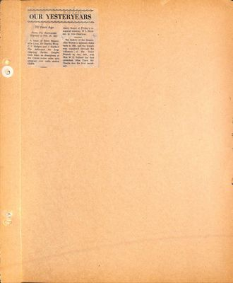 Beamsville WI Tweedsmuir Community History, Volume 1, 1946-1948