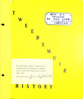 Birr WI Tweedsmuir Community History, Volume 3, 1958-1968