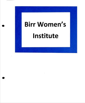 Birr WI Tweedsmuir Community History, Volume 9, 1990-2003