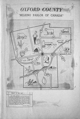 Browns WI Tweedsmuir Community History, 1964
