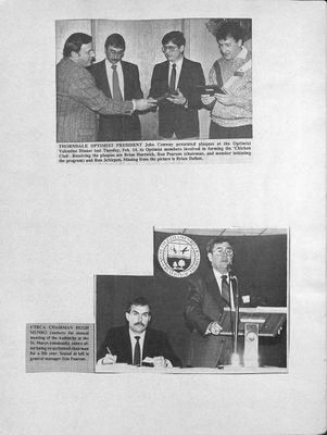 Browns WI Tweedsmuir Community History, 1989-1989