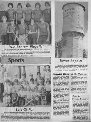 Browns WI Tweedsmuir Community History, 1977-1978