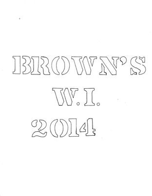 Browns WI Tweedsmuir Community History, Volume 11, 2014-2017