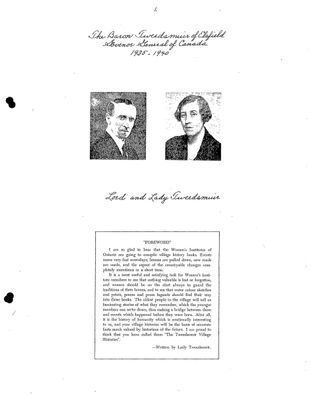 Browns WI Tweedsmuir Community History, Volume 3