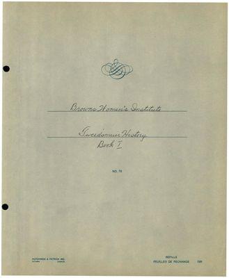 Browns WI Tweedsmuir Community History, Volume 5
