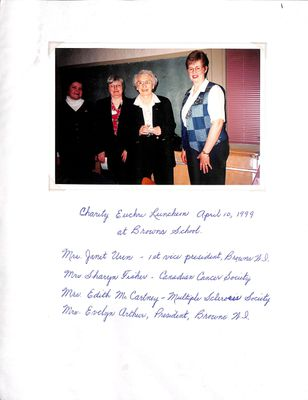 Browns WI Tweedsmuir Community History, Volume 7, 1998-2000