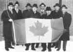 Célébration du drapeau canadien, Field, ON / Canadian Flag celebration, Field, ON
