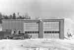 Garage municipal de Field, ON, construit en 1968 / Field, ON, Municipal garage built in 1968