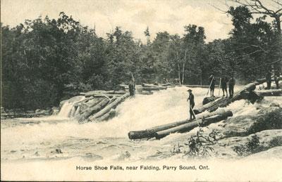 Horse Shoe Falls, near Falding, Parry Sound