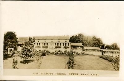The Elliott House, Otter Lake, Ontario