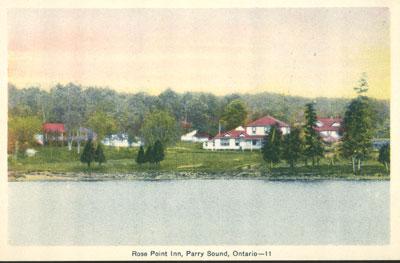 Rose Point Inn, Parry Sound Ontario