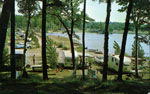 Provincial Park Camp Site Near Parry Sound