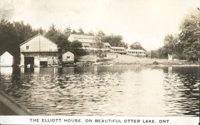 The Elliott House on beautiful Otter Lake, Ontario