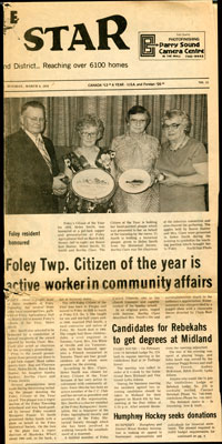 Foley Twp. Citizen of the Year