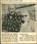 Gordon and Eileen Cargill
