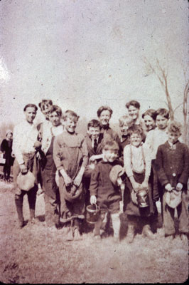 Group of Berry Pickers