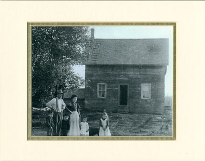 Thomas and Mary Pender with Family