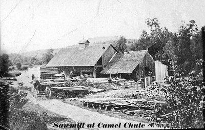 Sawmill at Camel Chute