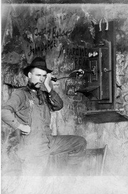 First telephone - Matawatchan