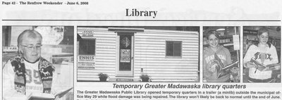 Temporary Library Quarters