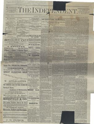 Grimsby Independent, 8 Apr 1886