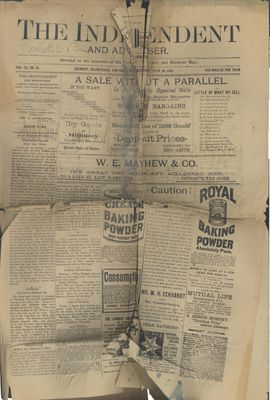 Grimsby Independent, 28 Jun 1888