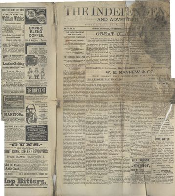 Grimsby Independent, 1 Nov 1888