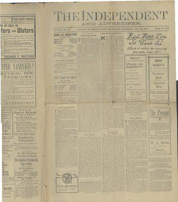 Grimsby Independent, 28 Nov 1901
